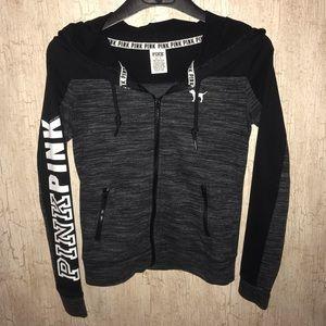 VS zip-up hoodie